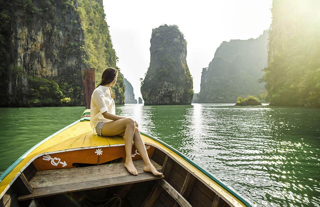 Paket Tour James Bond Island Phang Nga Bay by Long Tail Boat