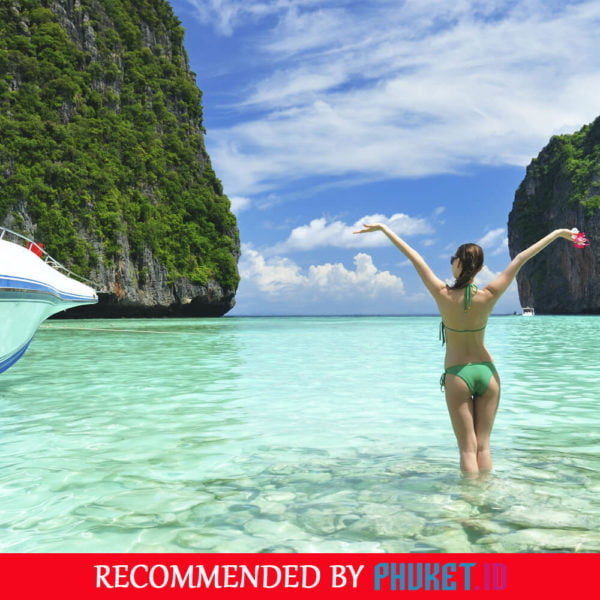 Paket Tour Phi Phi Islands dan Khai Island by Speedboat