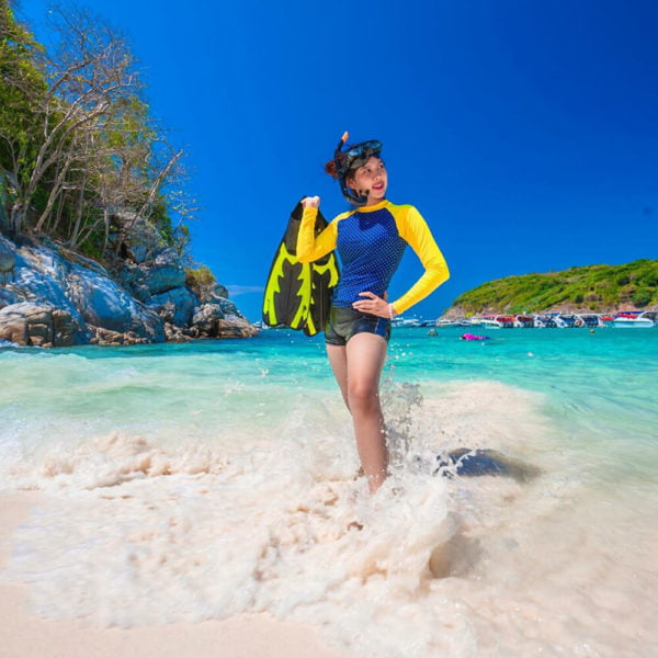 Paket Tour Racha Islands Phuket by Speedboat