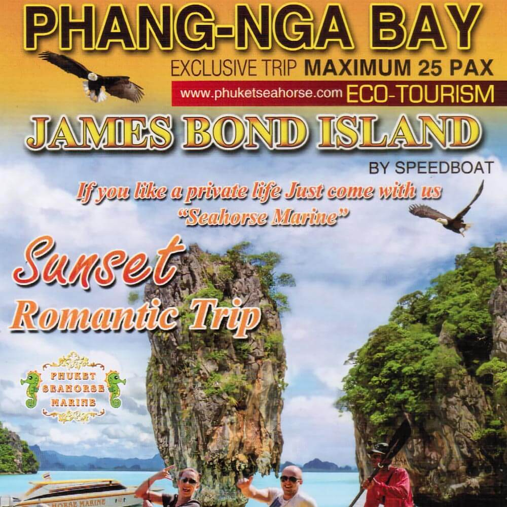 James Bond Island + Phang Nga Bay Sunset Romantic Trip