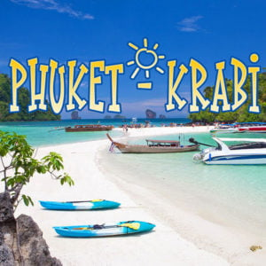 Paket Tour Krabi 4 Islands Dari Phuket (Snorkeling Tour)