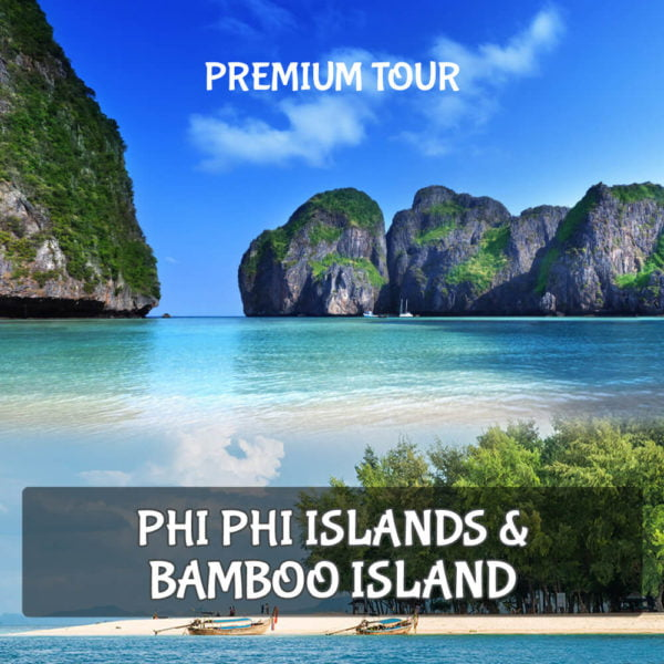 Paket Tour Phi Phi Islands dan Bamboo Islands by Speedboat