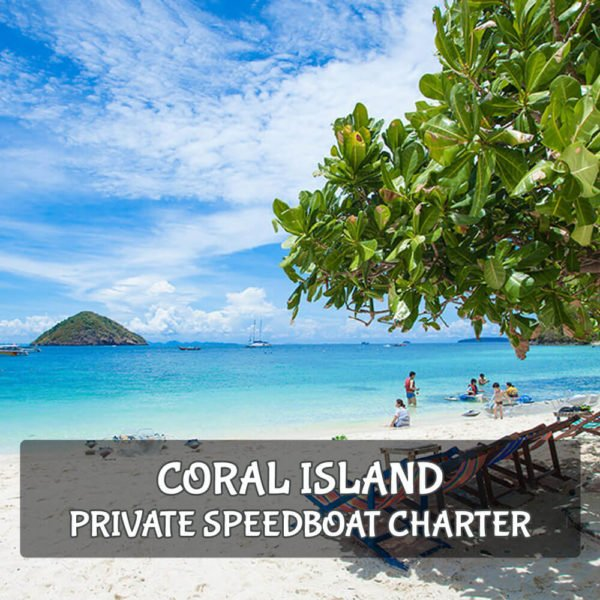 Coral Island Speedboat Charter From Phuket (Private Tour)