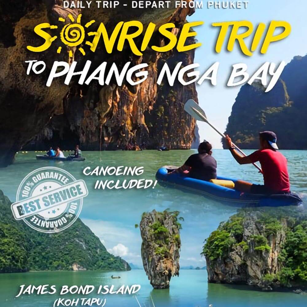 James Bond Island Phang Nga Bay Tour Sunrise by Speedboat