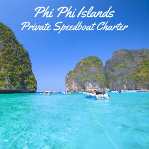 Phi Phi Islands Speedboat Charter From Phuket (Private Tour)